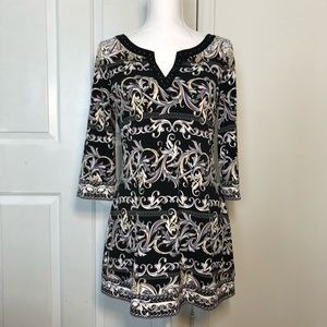 White House Black Market WHBM Tunic Dress - Size M